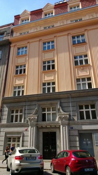 Oprava fasády, Podskalská 31, Praha 2